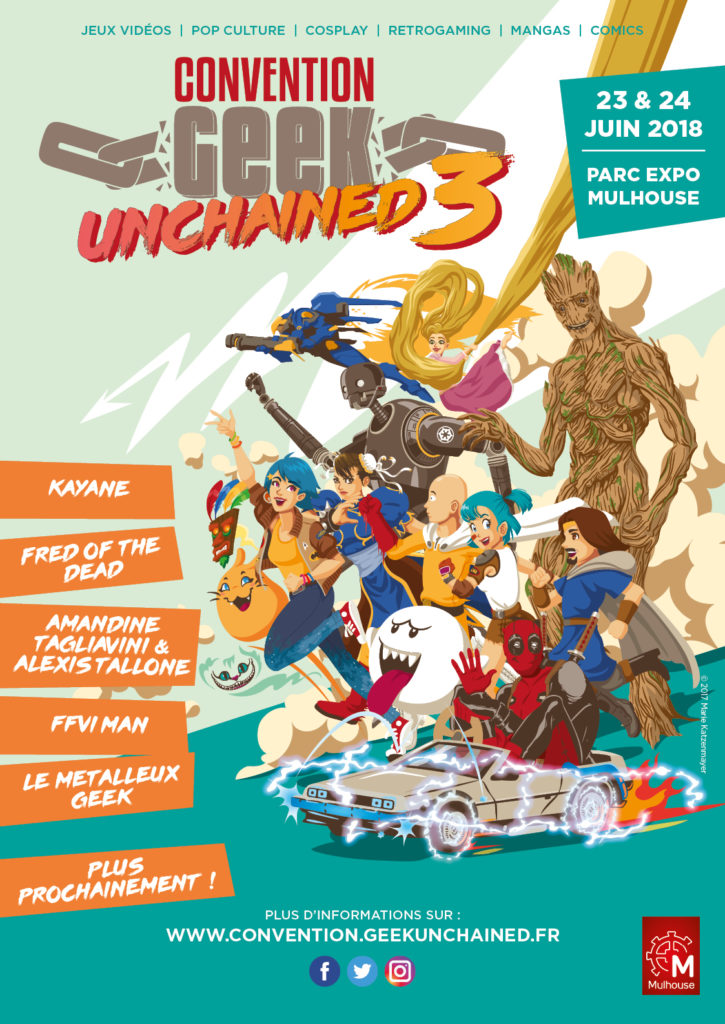 Convention Geek Unchained 3 Mulhouse