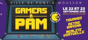 Gamers à PAM 2018